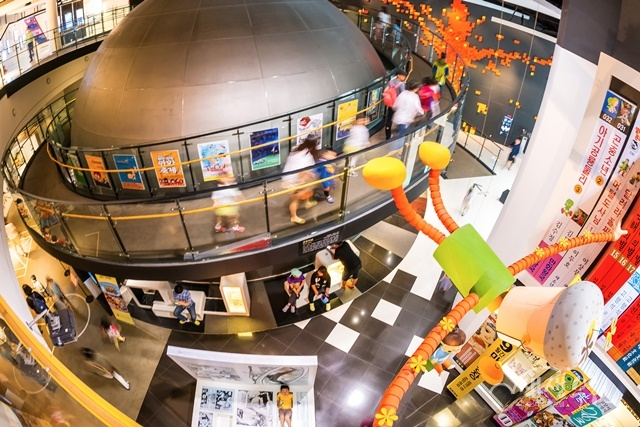 ▲ 한국만화박물관 상설전시 전경. 사진은 한국만화박물관