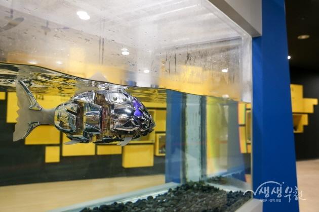 ▲ 부천로보파크 - 물고기 로봇