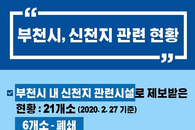 [카드뉴스] 부천시 관내 신천지 관련 현황(2. 27. 기준)