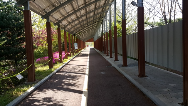▲ 소사사랑나눔농장 인근의 남부수자원생태공원
