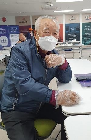▲ 사전교육 참가자 하재철씨