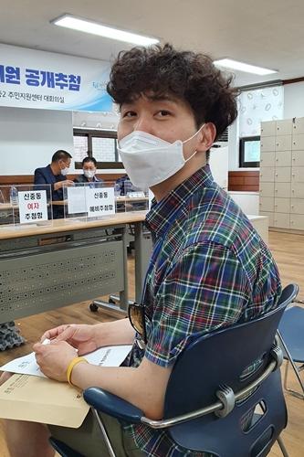 ▲ 약대동 주민자치위원으로 선정된 이승훈씨