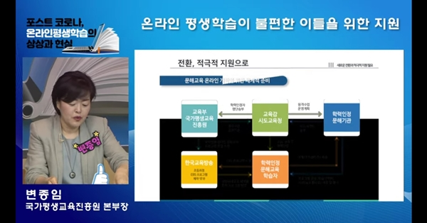 ▲ 변종임 국평원 본부장