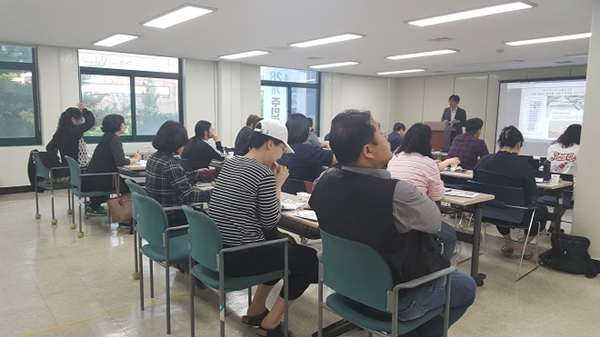 ▲ 작년에 진행된 '노동법률학교' 진행 모습