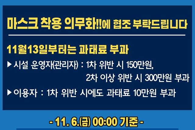 [카드뉴스] 11.6. 00:00 기준 코로나19 관련 부천시 상황