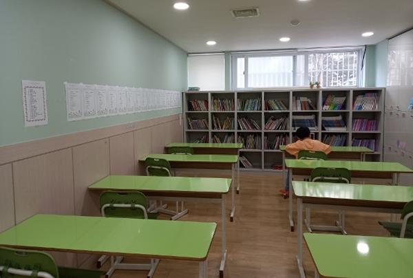 ▲ 다함께돌봄센터 교실2(복사골문화센터 內)