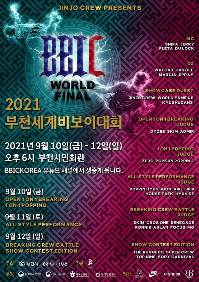 ▲ 부천세계비보이대회 포스터